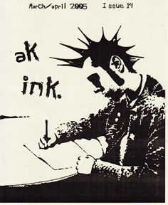 Ak Ink #14 Cover by Jennifer Gray