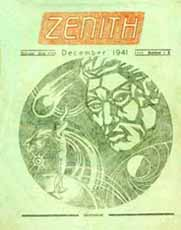 Zenith, Issue Three Cover by Harry Turner 1941