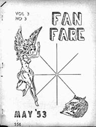 Fan-Fare Vol. 3 No. 3 1953 Cover art by Charles Momberger