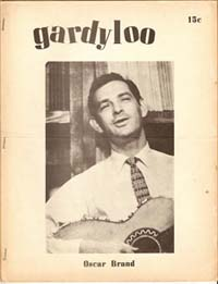 Gardyloo Issue Five, 1959