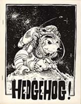 Hedgehog Issue 2 Cover art by Randy Mohr 1978