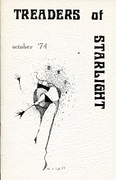 Treaders of Starlight #1 (October 1974), cover art by Mark Rich