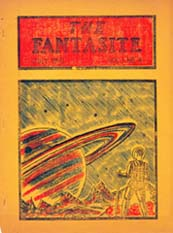 The Fantasite Issue 4 Cover Art by Phil Bronson 1941