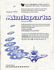 MindsparksIssue 1 August 1993