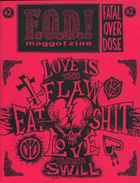 F.O.D.! Maggotzine Issue TwoCover by Urania 235