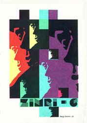 Zimri Issue 6 1974 Cover by Harry Turner