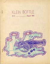 Klein Bottle Issue 5 1960