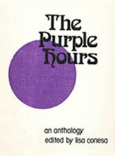 The Purple Hours 1974 Cover designed by Harry Turner