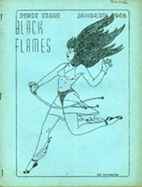 Black Flames Issue 1 Cover Art by Fay Dishington 1946
