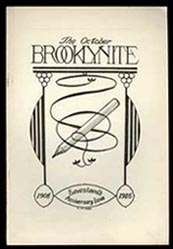 The Brooklynite Volume 15 No. 4 October 1925