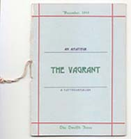 The Vagrant Issue Twelve, December 1919