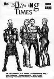 The Burning Times - Issue Six  (cover by G.B. Jones)