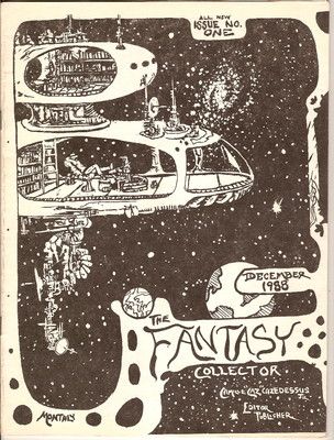 The Fantasy CollectorIssue 1 December 1988