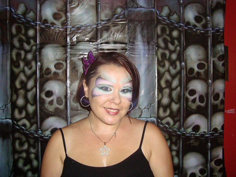 File:Me butterfly makeup 102310.jpg