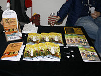 Stall on the comic festival Hinterconti