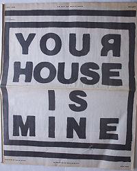 Your House is Mine
