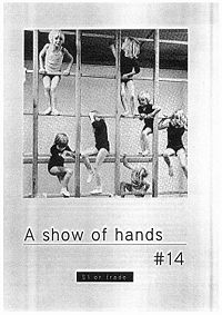 A show of hands zine #14