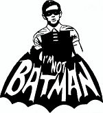 I'm Not Batman logo