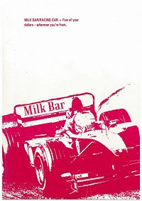 Milk bar / racing car